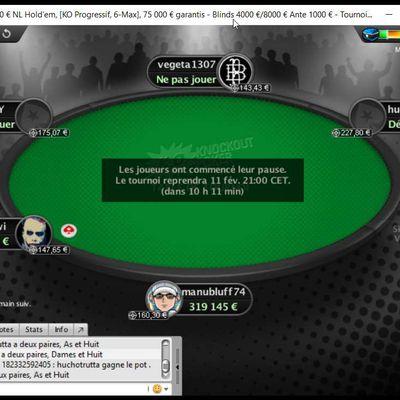 Une perf sur les Fresh Series de Pokerstars ?