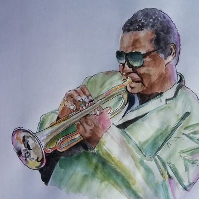 WALLACE RONEY    PORTRAIT & HOMMAGE