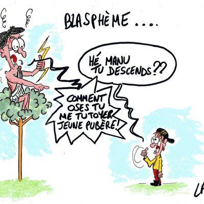blasphème...