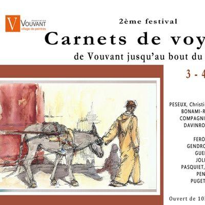 2ème Festival Carnets de Voyages les 3-4 et 5 juin