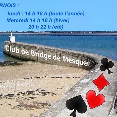 le blog du Club de Bridge de Mesquer