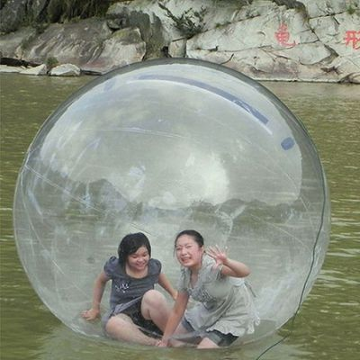 Make You Water Sporting Adventure A Treat With Human Hamster Ball