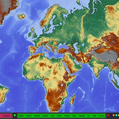 Dynamic web world Maps drived from VFP