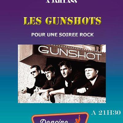 Rock au dancing de Jaillans Vendredi 19 mai 2017 avec l'orchestre Gunshot