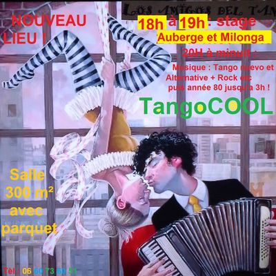 Et si on dansait TangoCool Samedi 14 Octobre 2017 au dancing de Jaillans 26300