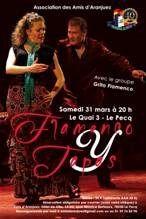 Soirée Flamenco y tapas au Pecq le samedi 31 mars 2018