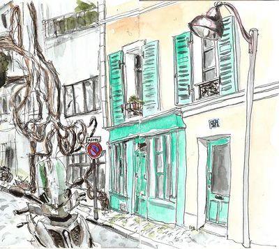 Paris... Ici et Ailleurs 11 - la rue des Thermopyles