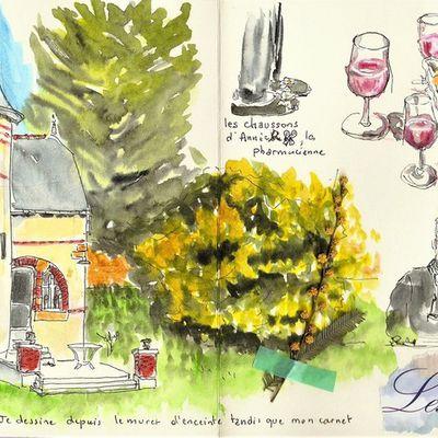 Izenah... île aux moines - mimosas et Embruns