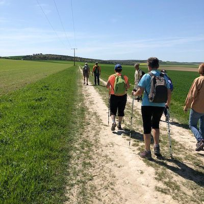 MARDI 17 AVRIL 2018 FAUX VILLECERF 8P 16 KM