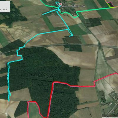 MARDI 4 JUIN 2019 PALIS PLANTY 7 P 14 KM