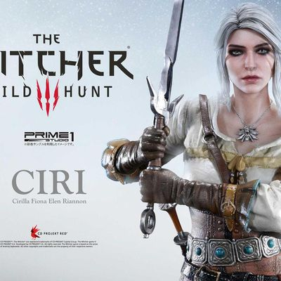 Ciri - La figurine Prime One Studio