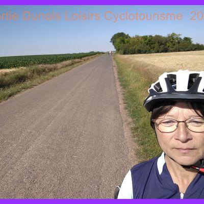 Sortie cyclotourisme Dunois Loisirs. Juillet 2019