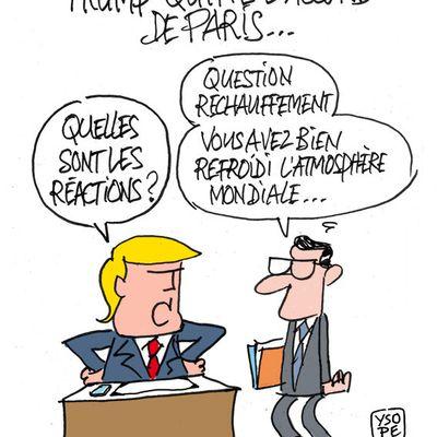 Trump quitte l'Accord de Paris sur le climat...