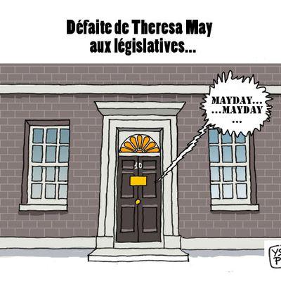 Défaite de Theresa May aux législatives...