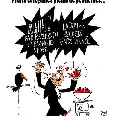 Fruits et légumes pleins de pesticides...