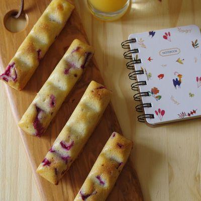 Cakes prunes, feta et romarin