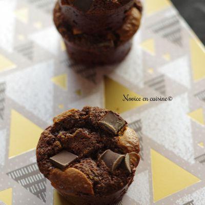 Minis muffins 100% chocolat