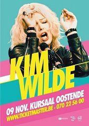 Kim Wilde live à Ostende en novembre