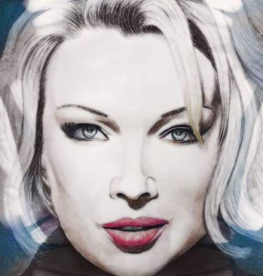 Kim Wilde - Portait par Pavel Oparty