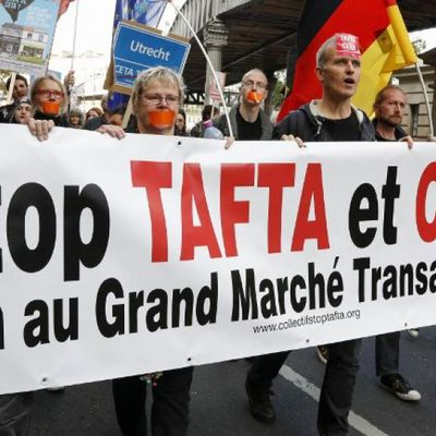 CETA : contre l'ignoble ultimatum, soutenir la RÉSISTANCE WALLONNE ! (Parti communiste  de Belgique)
