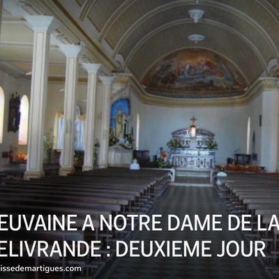 NEUVAINE À NOTRE DAME DE LA DÉLIVRANDE : DEUXIÈME JOUR