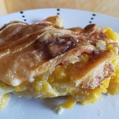 gratin de butternut au reblochon