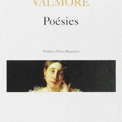 POÉSIES, de Marceline Desbordes-Valmore