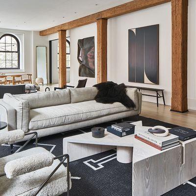 Un appartement new-yorkais en blanc et noir