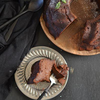 Gâteau au chocolat et à la patate douce { sans farine, sans gluten }