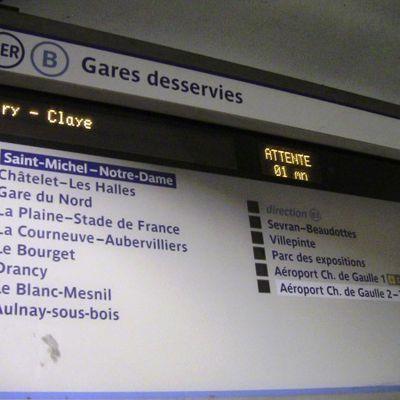 Nouvelle galère sur le RER B suite à des travaux