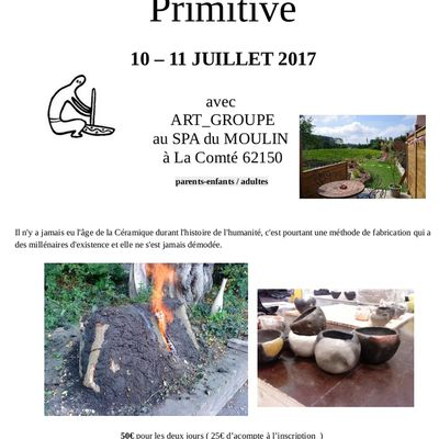 STAGES JUILLET / AOUT 2017