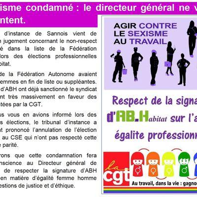 Le sexisme condamné chez ABH : le directeur général ne va pas être content !