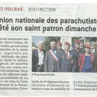 Dans la presse, Saint Michel 2017 section UNP 010