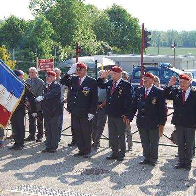 Commémorations 8 mai : Chatillon La Palud, Saint Vulbas, et Cerdon au mémorial des Maquis de l'ain