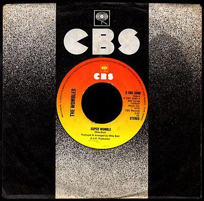 The Wombles - Super Womble b/w The Orinoco kid - 1974