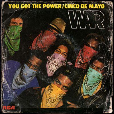 War  - Cinco de mayo  (B side) - 1982