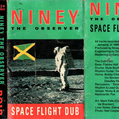 Niney the observer - Gone with the wind Dub - 1990