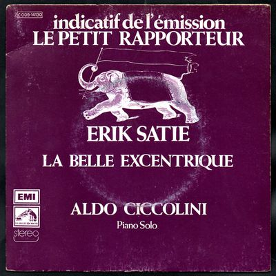"""Indicatif des émission """"Le petit rapporteur"""" et """"Lignes ouvertes de Gonzagues Saint-Bris"""" 1976"""