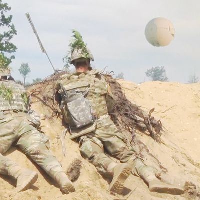 Sphere UFO and US soldiers in GERMANY !!! July 2018