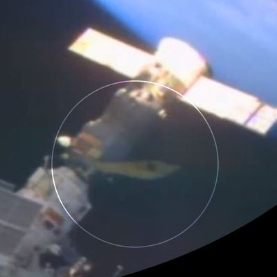 👽 Did a UFO Dock With International Space Station For Alien Astronaut Meeting ?