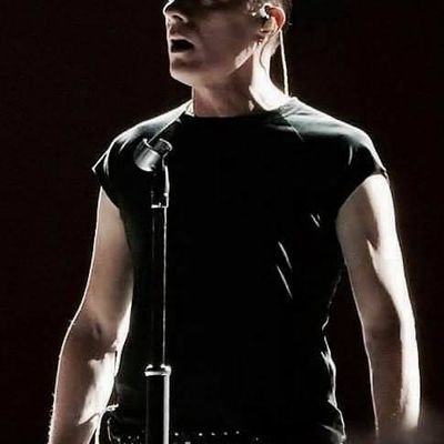 U2 -Larry Mullen -Vancouver ,Canada -12-05-2017