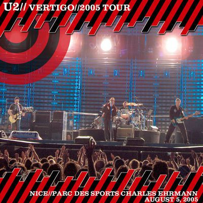 U2 -Vertigo Tour -Nice -France 05/08/2005