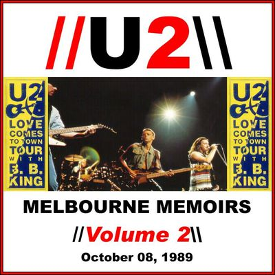 U2 -Lovetown Tour -08/10/1989 -Melbourne ,Australie -National Tennis Center (2)