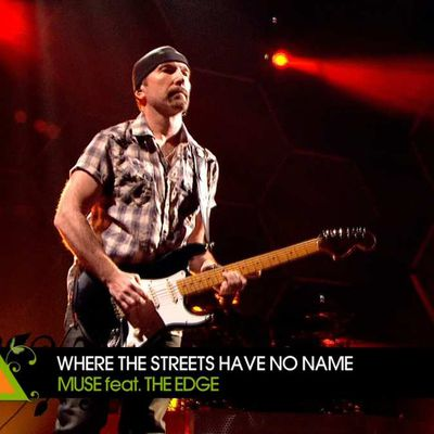 The Edge -Muse -Festival de Glastonbury -Angleterre -26/06/2010