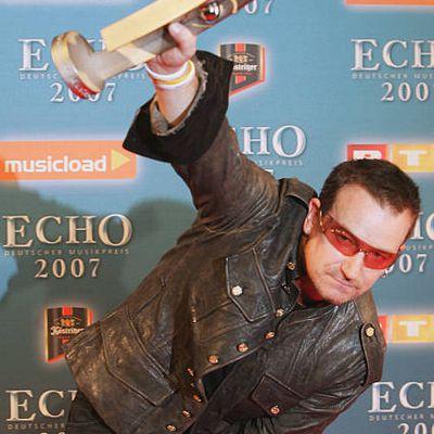 Bono - ECHO Music Awards 2007 -Berlin -Allemagne 25/03/2007