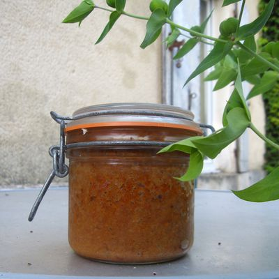 tartinade aux haricots rouges