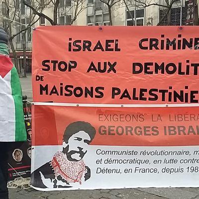 Stop aux démolitions des maisons palestiniennes !