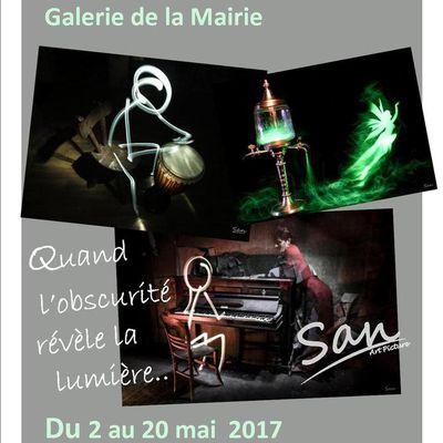 Galerie de la Mairie : Exposition du 2 au 20 mai 2017