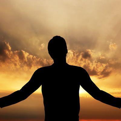 L'homme qui prie