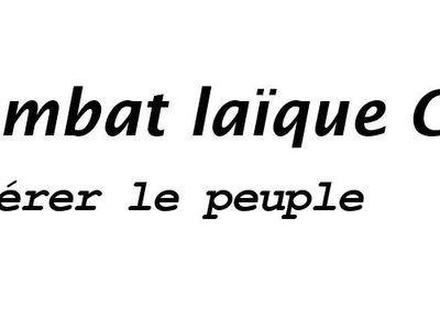 "MS21 vous invite  : Colloque ""Combat Laïque, Combat Social"""
